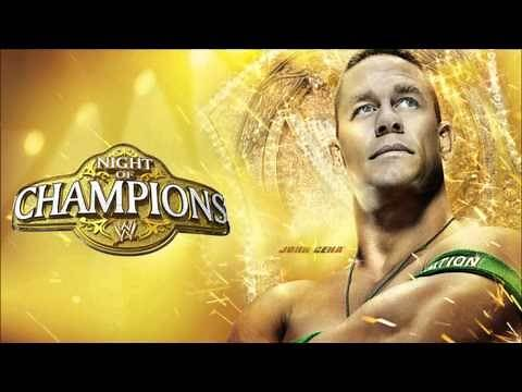 """2012: WWE Night of Champions Official Theme Song - """"Champions"""" by Kevin Rudolf ft. Cash Money Heroes"""