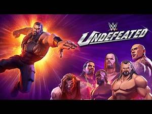 WWE Undefeated available now on iOS and Android devices