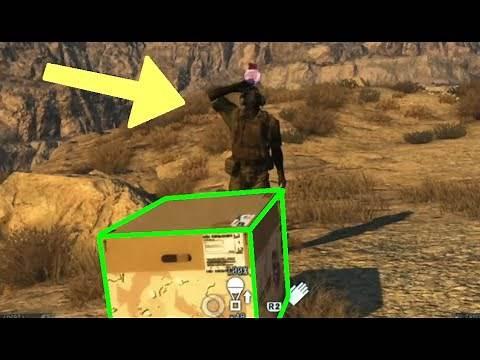 MGSV: Phantom Pain - Top 12 Cardboard Box Tricks (Metal Gear Solid 5)