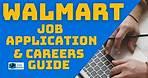 Walmart Job Application and Careers Guide
