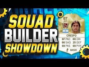 FIFA 16 - SQUAD BUILDER SHOWDOWN!!! 87 RATED LEGEND CRESPO!!! Crespo Squad Builder Duel