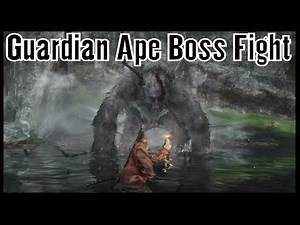 Sekiro Shadows Die Twice Guardian Ape Boss Fight