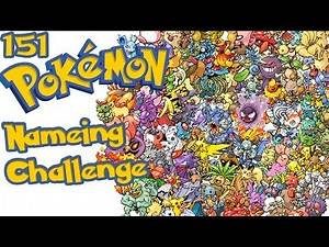 Name 151 Pokemon CHALLENGE!!