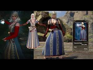 Witcher 3 Keira in SoulCalibur 6 (Custom Character)