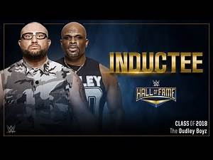 Dudley Boyz to enter WWE Hall of Fame
