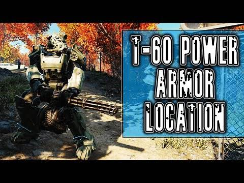 T60 Power Armor Location in Fallout 76