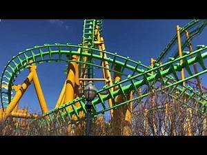 Riddler Revenge Six Flags New England Off Ride Clips