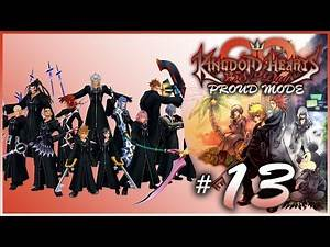 Kingdom Hearts 358/2 Days Proud Mode Playthrough with Chaos part 13: Emblem Hunting