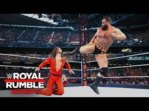 Rusev batters Shinsuke Nakamura in U.S. Title Match: Royal Rumble 2019 Kickoff