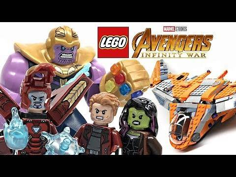 LEGO Avengers Infinity War Thanos Ultimate Battle review! 2018 set 76107!