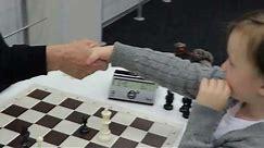 Misha Osipov (4 Year player) - Chess Video Plus