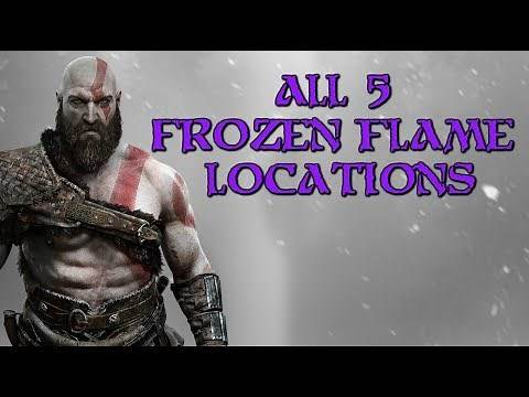 God of War   All Frozen flame locations (Leviathan Axe upgrades)