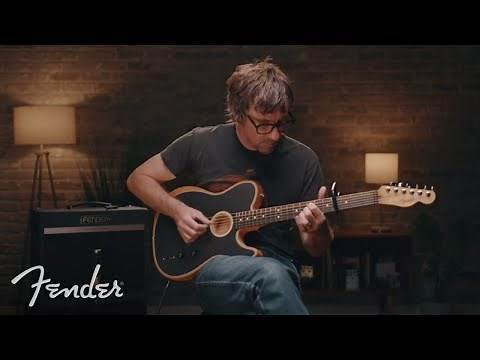 Graham Coxon Of Blur Plays The American Acoustasonic Telecaster | Fender