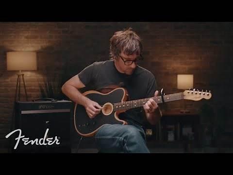Graham Coxon Of Blur Plays The American Acoustasonic Telecaster | Fender