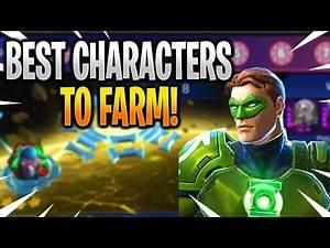 THE BEST CHARACTERS TO FARM! - DC Legends: Battle For Justice