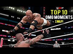 WWE 2K17 - TOP 10 OMG Moments Swapping! Lesnar, Strowman, Kalisto, Cena & More! Part 4 (PS4/XB1)