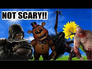 How Make Scary Video Games Not Scary (Voice Over Dub Compilation!)