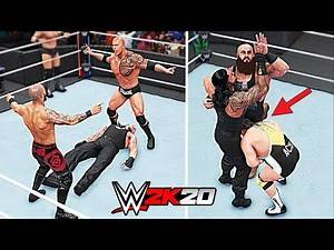 WWE 2K20 Top 10 Greatest Tag Team Finishers!!