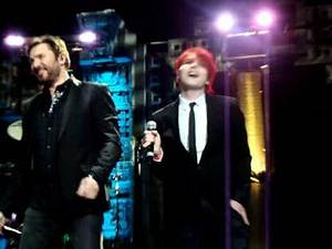 Gerard Way of My Chemical Romance joins Duran Duran on stage