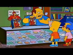 THE SIMPSONS - Milhouse And Bart Banned in this World !