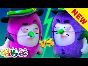 ODDBODS | Which Witch Will Win? | NEW HALLOWEEN 2020 | Cartoons For Kids