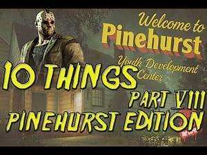 10 Things You Don't Know About Friday the 13th Part 8 Pinehurst Edition