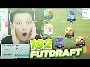 GOING FOR A 192 RATED DRAFT CHALLENGE! - FIFA 16 RECORD ATTEMPT!