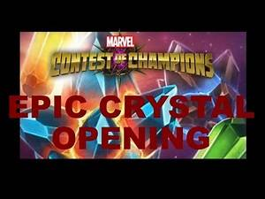 Marvel Contest of Champions: mercenary & moon knight crystals in this epic over 100 crystal opening!
