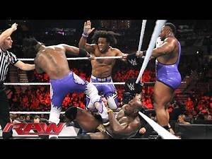 Mark Henry & The Prime Time Players vs. The New Day: Raw, July 13, 2015