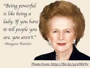 Clarey Test on Margaret Thatcher