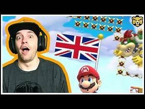 For The Queen! UK Only 100 Man Super Expert Super Mario Maker