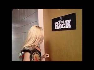 the Rock and Trish stratus