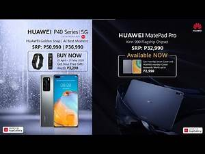 Meet the Huawei Flagship P40 Series, Matepad pro and Matebook X Pro