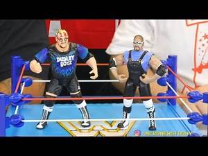 ECW Dudley Boyz Retro Figure Review