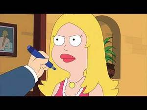 American Dad Stan and Francine in Fine-Dining Restaurant