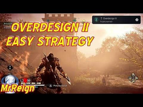 Assassin's Creed Valhalla - OVERDESIGN II - Trophy Achievement Guide VERY EASY METHOD