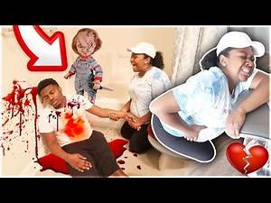 BEST SCARE PRANK EVER ON GIRLFRIEND!!! (GONE TOO FAR)