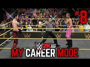 "WWE 2K16 My Career Mode - Ep. 8 - ""BAD BLOOD!"" [WWE MyCareer PS4/XBOX ONE/NEXT GEN Part 8]"