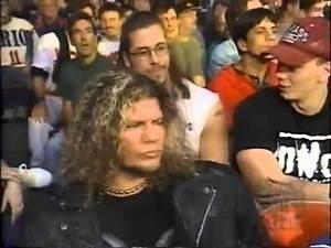 WCW Nitro - Raven & Stevie Richards sit at ringside *September 29th, 1997*