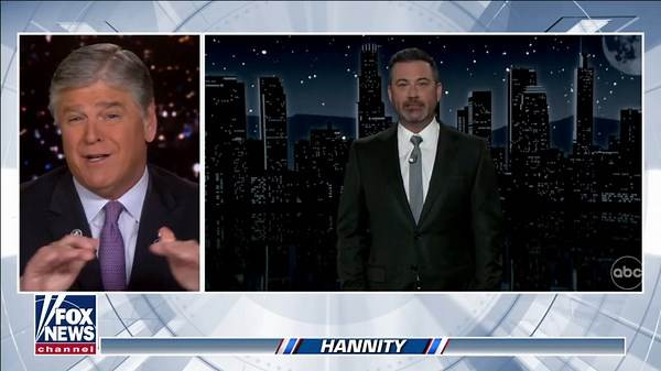 Sean Hannity calls out 'failed' late-night host Jimmy Kimmel