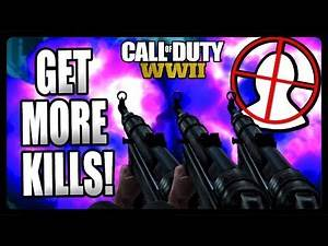 COD WW2: GET MORE KILLS - Tips and Tricks! (Call of Duty World War 2) Part #1