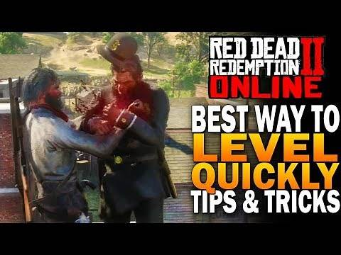 The Best Way To LEVEL UP FAST In Red Dead Redemption 2 Online Beta [RDR2]