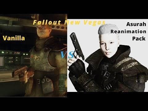 Fallout NV vanilla vs Asurah Reanimation