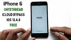 Bypass Activation Lock iPhone 6 (iOS 12.4.8) Untethread [Windows]