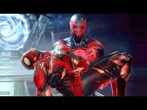 Spider-Man Death Scene (Peter Parker Dies) - Spider-Man Edge Of Time