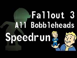 Fallout 3 ALL Bobbleheads in 44:38 Speedrun [Former WR]