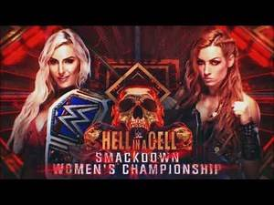 WWE Hell In A Cell 2018: Charlotte Flair vs. Becky Lynch - Official Match Card