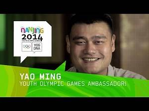 Slam Dunk! - Yao Ming announced as Youth Olympic Games Ambassador for Nanjing 2014