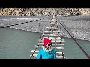 Hussaini Bridge, Hunza, Gilgit-baltistan