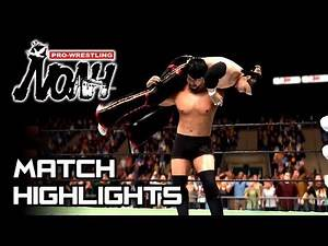 NOAH – Naomichi Marufuji vs. KENTA ★ Simulation Match Highlights 【WWE 2K19】
